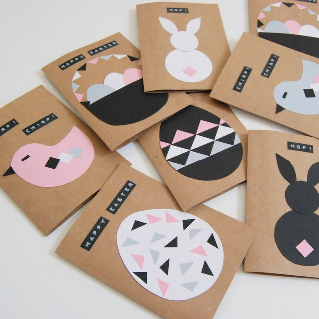 Exceptional Ideas For Making Easter Cards Part - 7: DIY Easter Cards - Easter Roundup - 10 Easter Crafts - By Stella Crafts