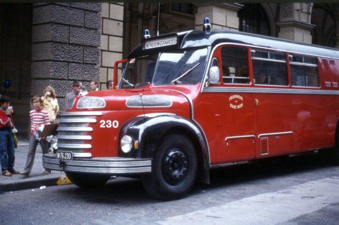 1951 Gräf & Stift Feuerwehr -