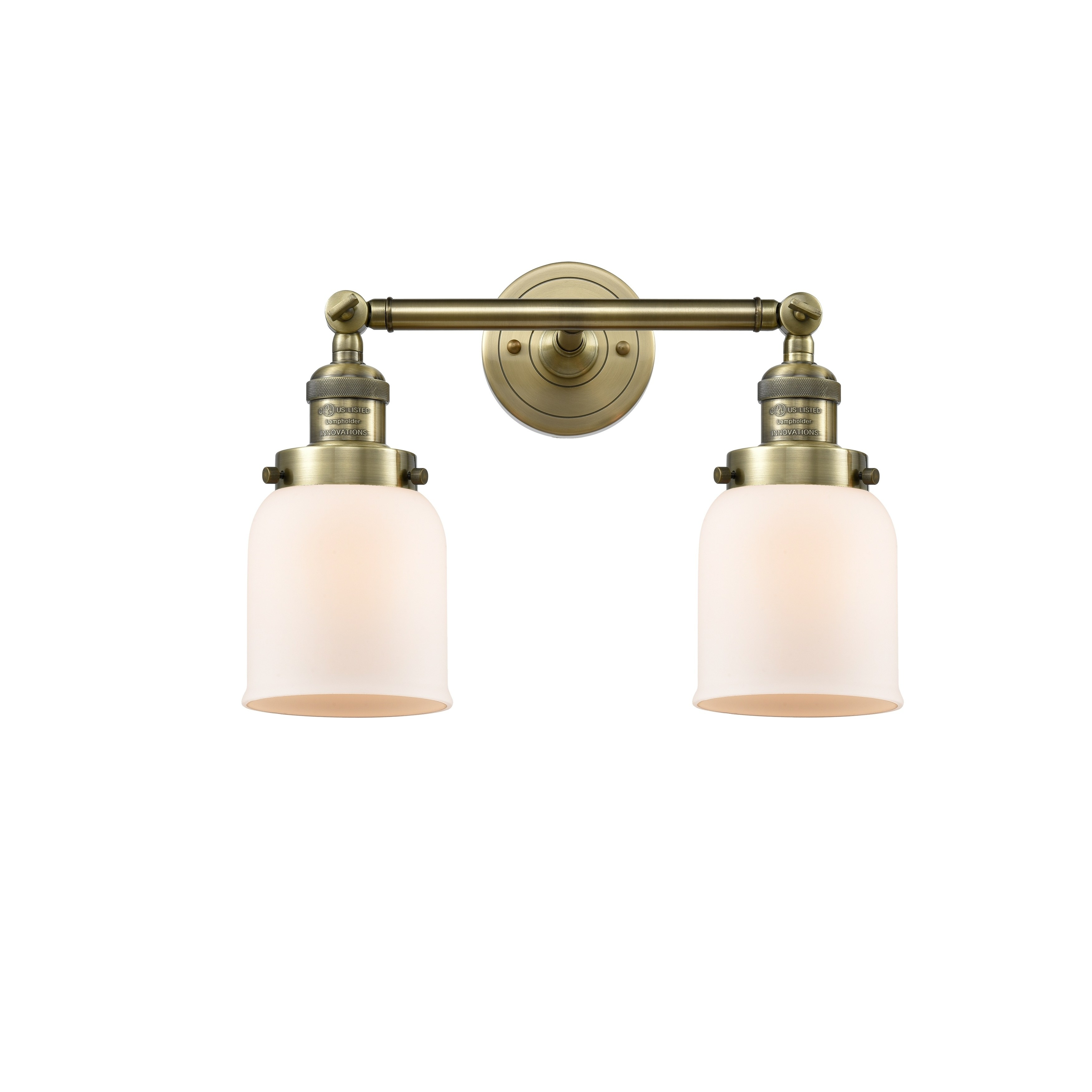 Innovations Lighting Innovations Lighting Small Bell 1 Light Sconce Bulbs Included Vintage Filament Bulb Included Led Dimmable Silver Me Brass Bathroom Fixtures Bathroom Fixtures Sconces