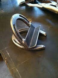 Horseshoe business card holder horse shoes pinterest business horseshoe business card holder colourmoves