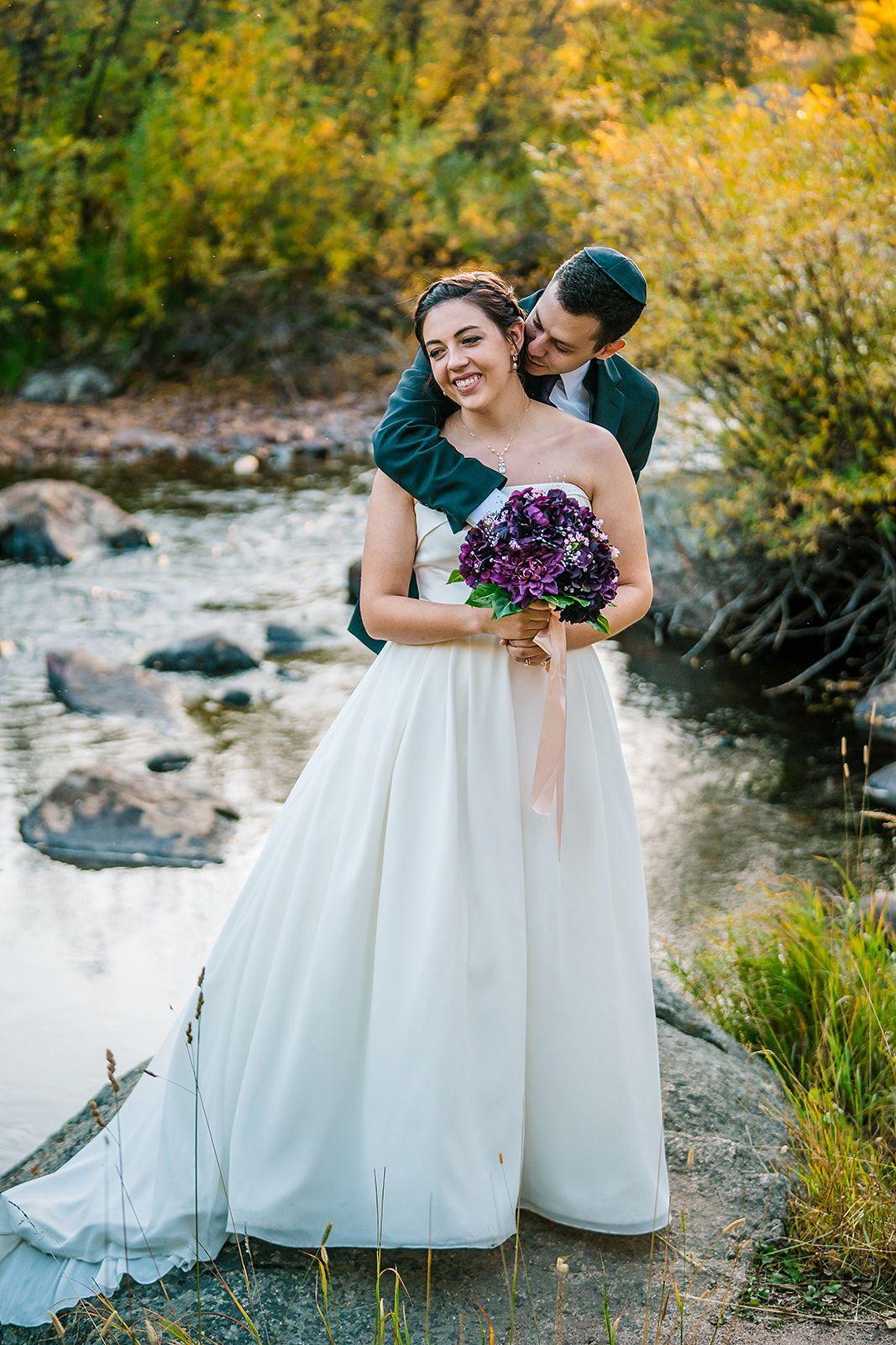 Wild Basin Lodge Wedding Fall Wedding Allenspark