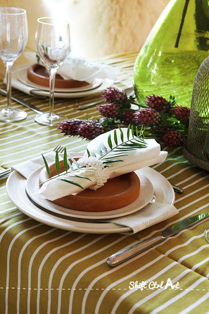 Hama bead napkin rings dare to diy thanksgiving table