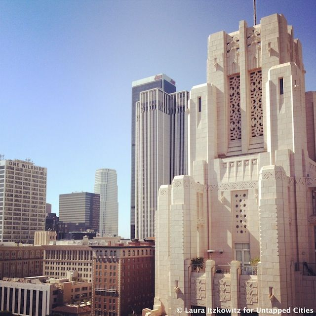 Title Guarantee & Trust Building One of LA\'s great examples of Art ...