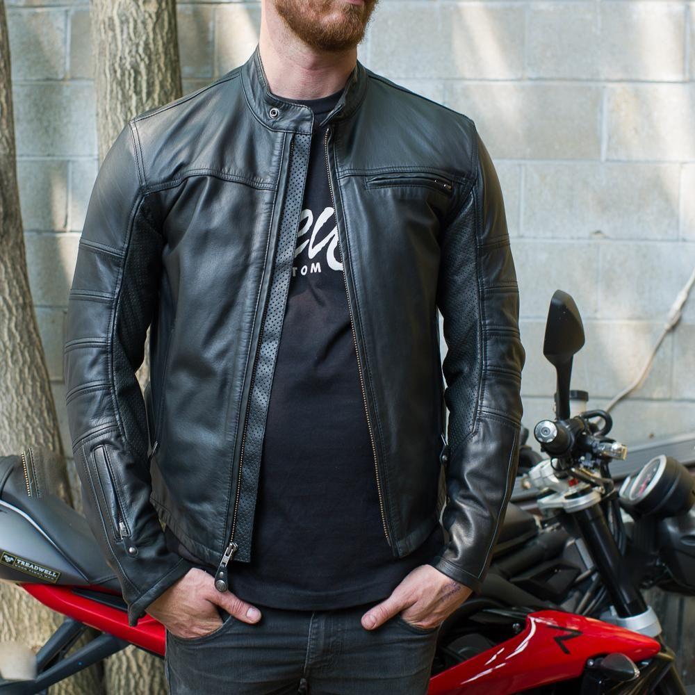 Roland Sands Ronin Motorcycle Jacket Roland Sands Design Leather Jacket Men Roland Sands [ 1000 x 1000 Pixel ]