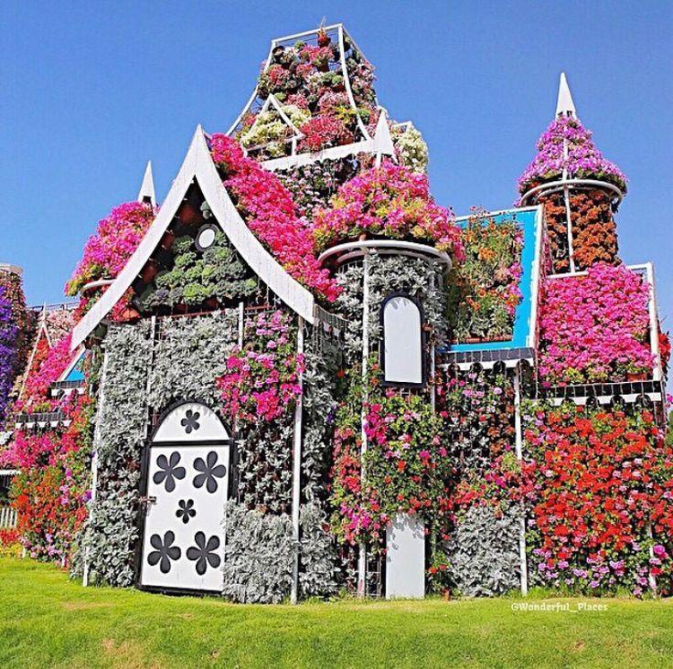 flower house dubai miracle garden garten deko. Black Bedroom Furniture Sets. Home Design Ideas
