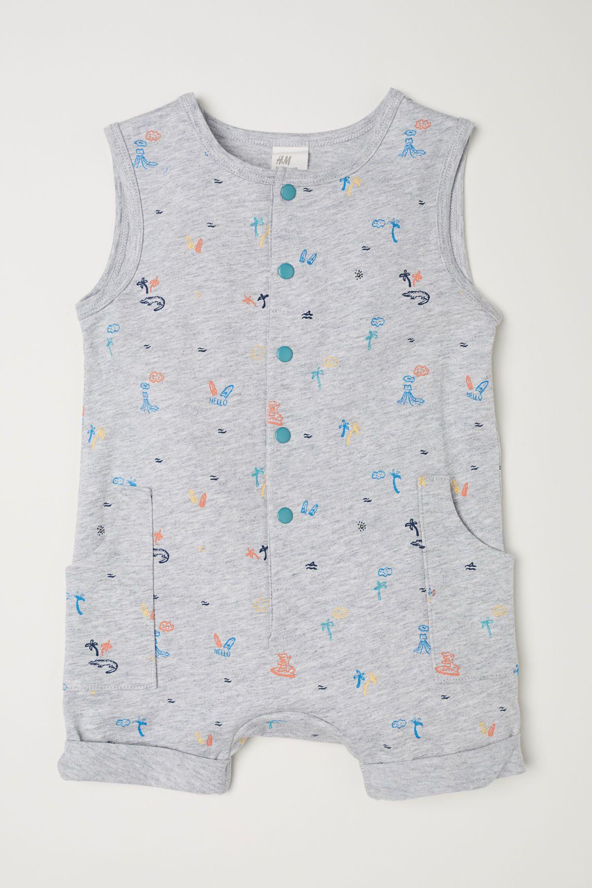 032cc0cbbefb Sleeveless Jersey Jumpsuit