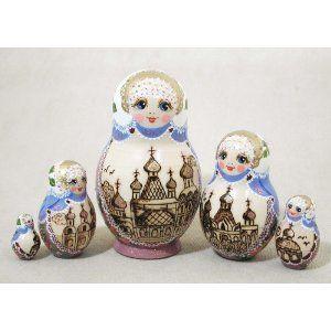 Monastery nesting dolls