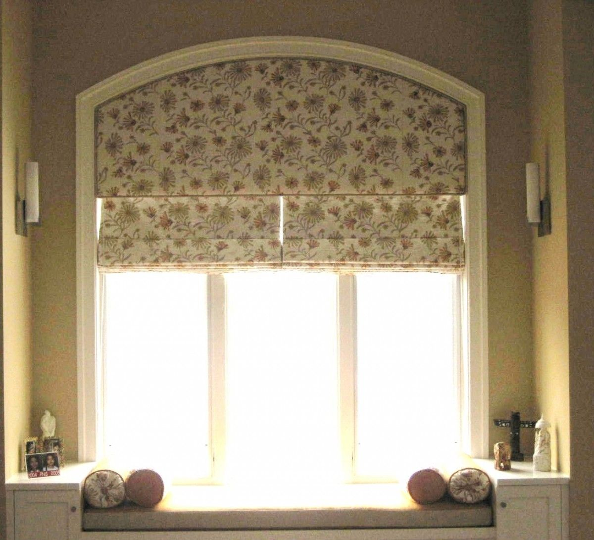 Arched Window Treatments Diy Campernel Design Curtains For