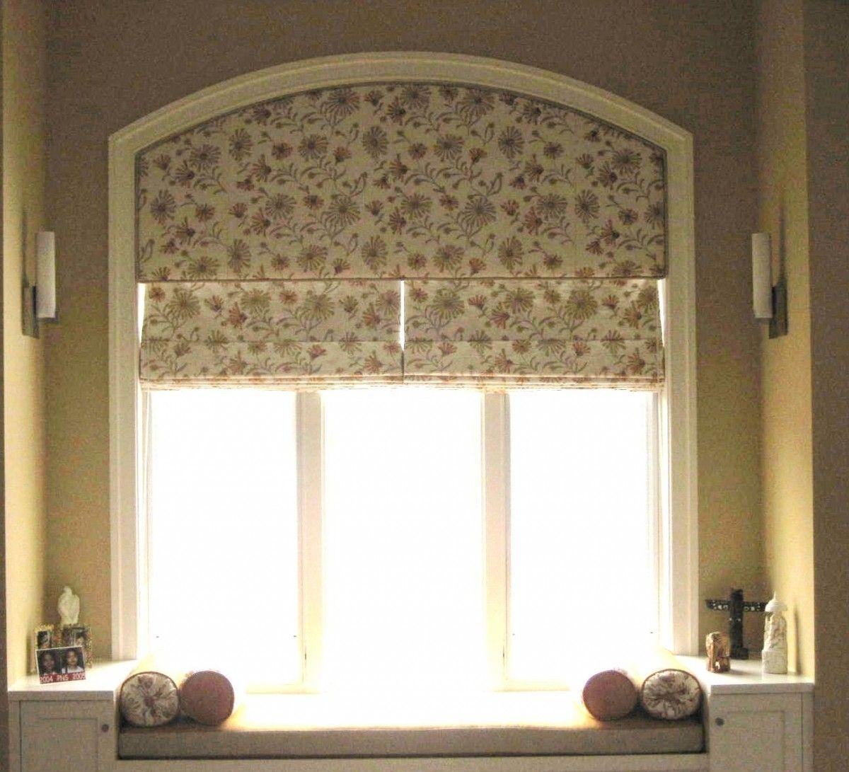 Arched window treatments diy campernel design diy