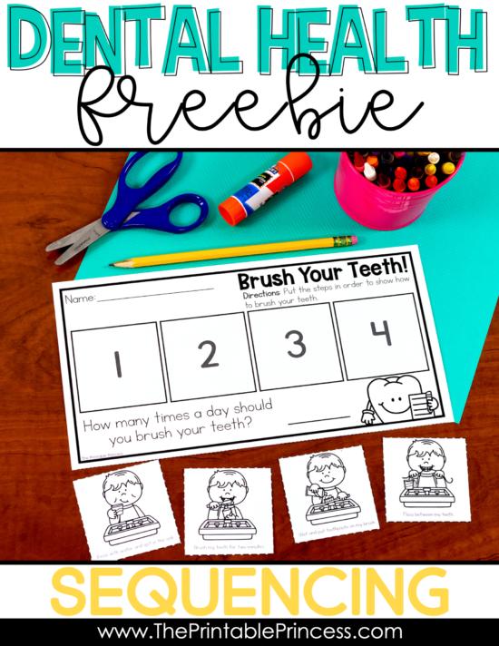 Zahngesundheit Read Alouds and Freebie   – Kindergarten