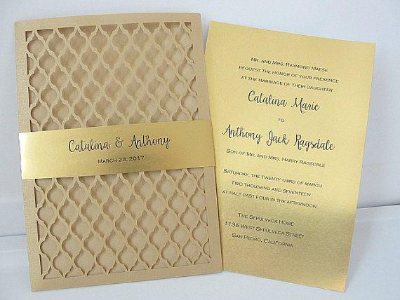 Laser Cut Wedding Invitation Indian Por Lavenderpaperie1
