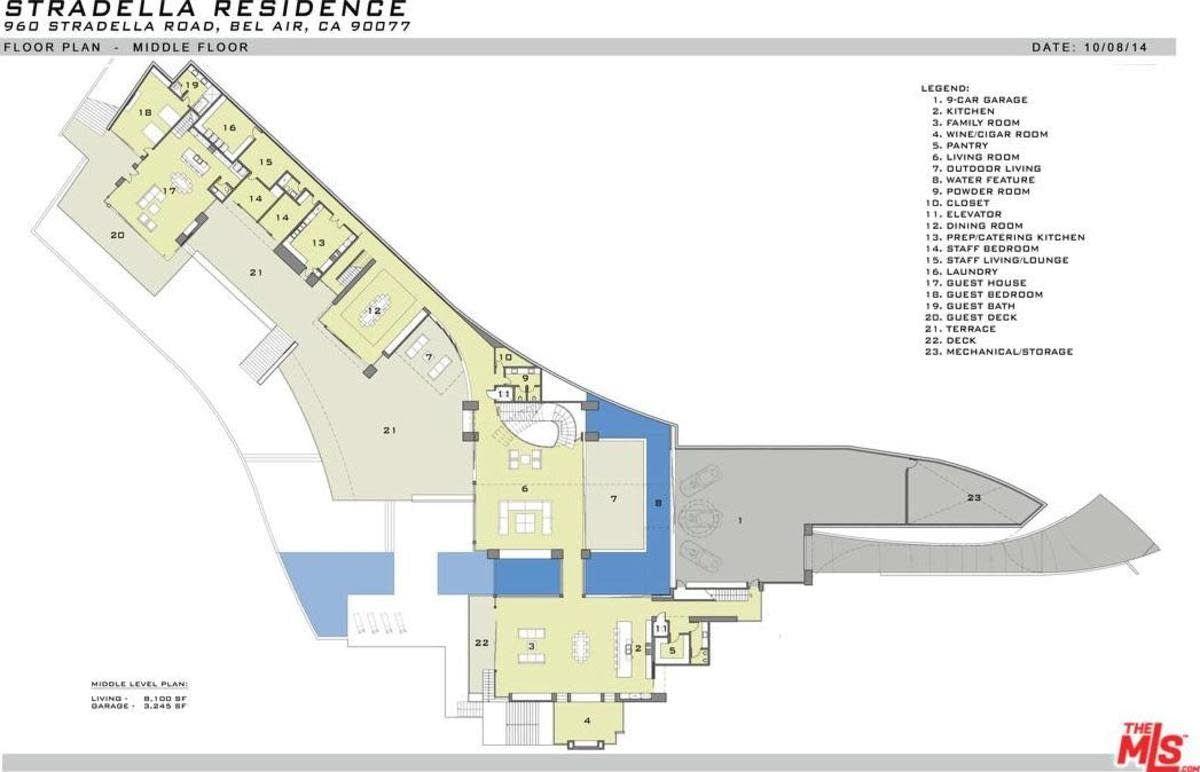 960 Stradella Rd Los Angeles Ca 90077 Opendoor Floor Plans House Floor Plans House Blueprints