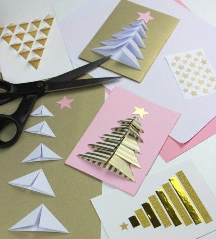 Carte de voeux personnalisée à faire pour Noël   tutos et 70