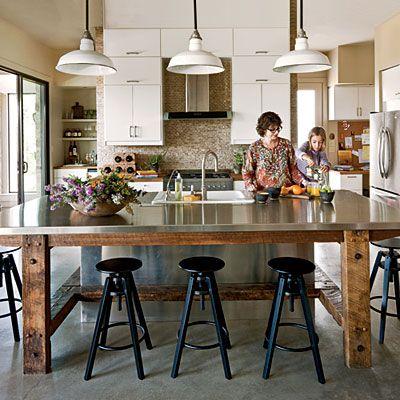 Dream Kitchen: Urban Country Kitchen #countrykitchens