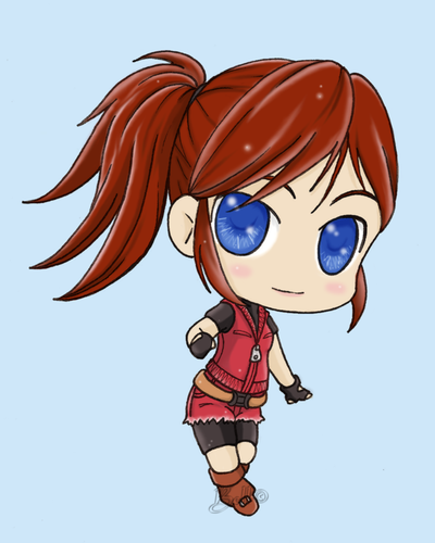 Claire Redfield By Sisterbelldandy On Deviantart Resident Evil Survival Horror Game Redfield