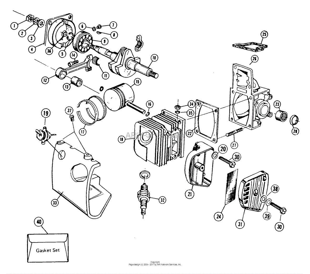 50 Poulan Pro 220 Parts Diagram Em9v