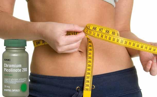dosis de picolinato de cromo para bajar de peso