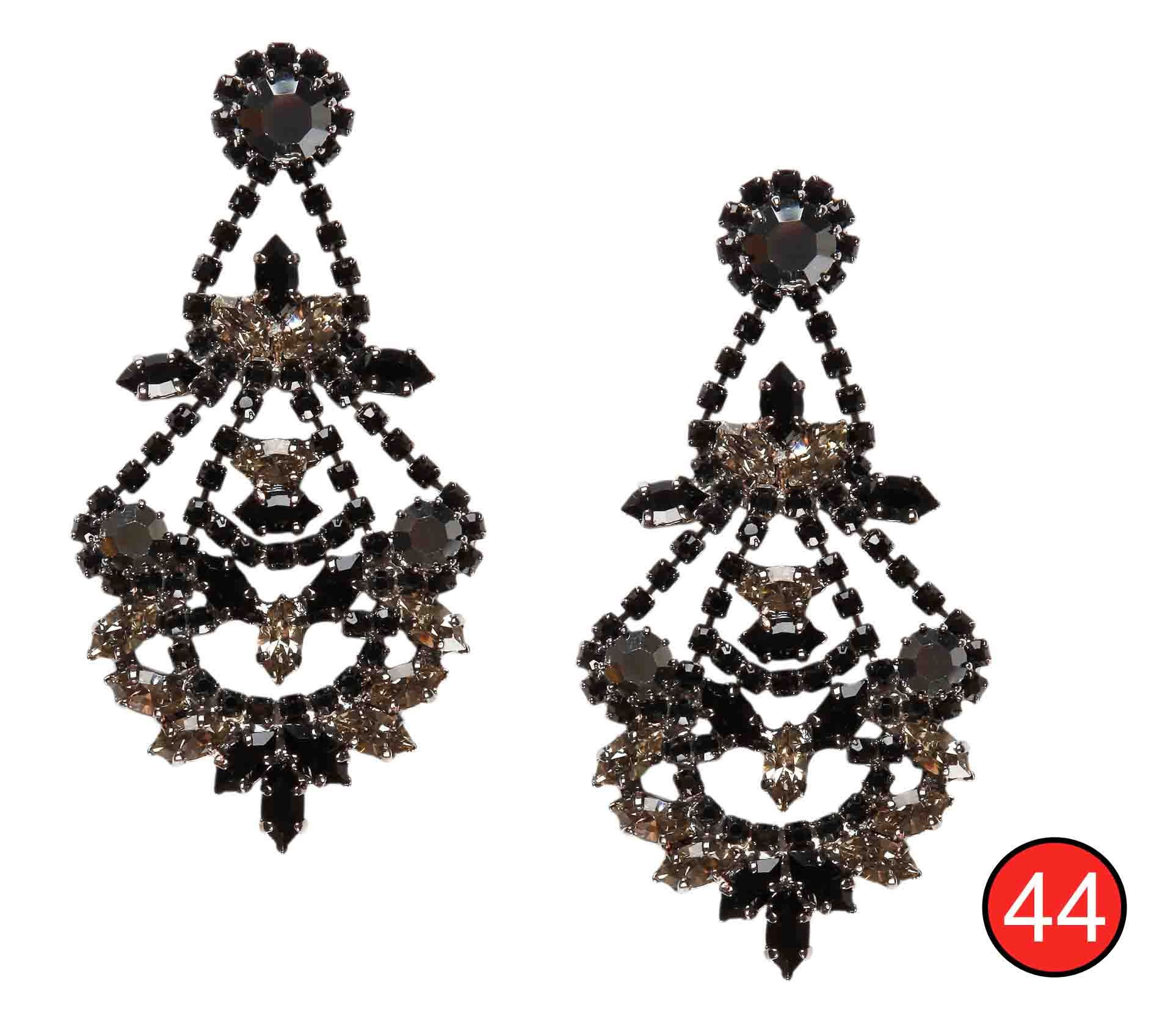Black large chandelier earrings nextbingo earrings pinterest black large chandelier earrings nextbingo arubaitofo Image collections