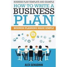 Business plan template and example: how to write a business plan: Business plann
