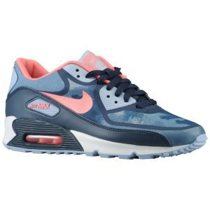 Nike Air Max $114 90 Premium Tape - Women's - Light Armory Blue/Armory Navy/Atomic Pink/