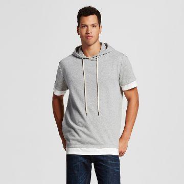 Jackson® Men's Short Sleeve Hoodie Gray | Donovan's New Duds ...