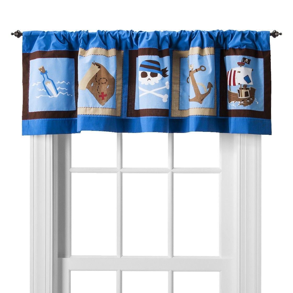 Circo Pirate Window Valance - 54x15\