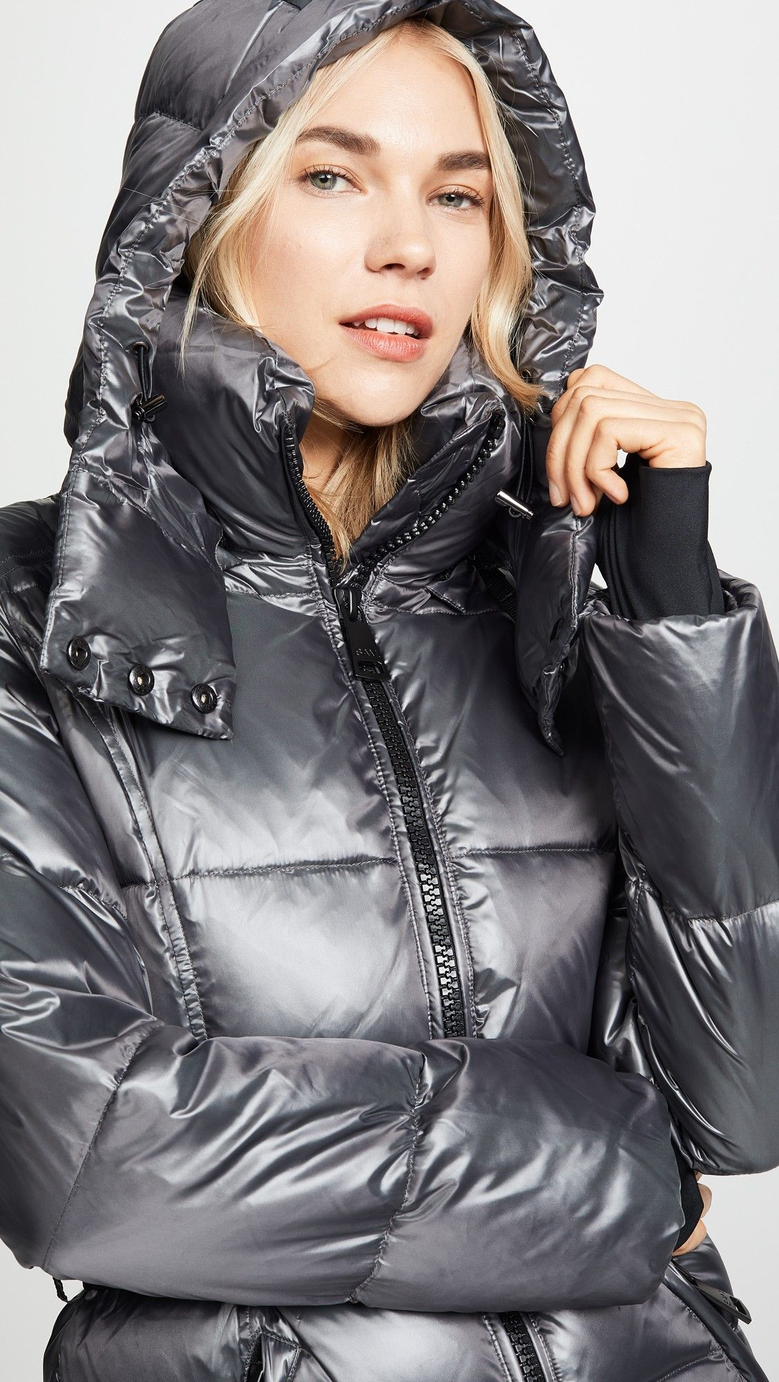 Sam Soho Long Down Jacket Shopbop The Style Event Up To 25 Off On Must Have Pieces From Top Designers Down Jacket Jackets Puffer Jacket Women [ 2000 x 1128 Pixel ]