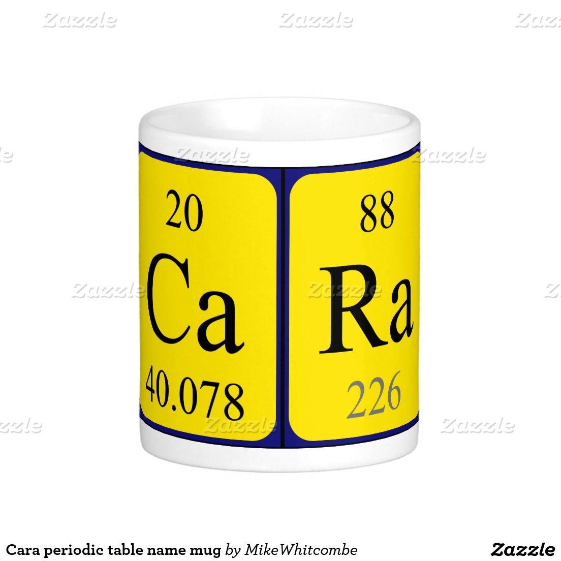 Cara periodic table name mug periodic table cara periodic table name mug urtaz Image collections