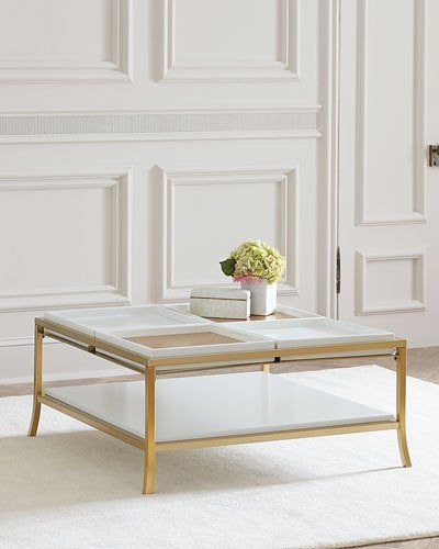 HAZNM Cynthia Rowley For Hooker Furniture Flip Coffee Table