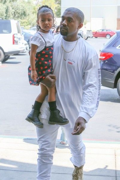 Kanye West Photos Photos Kim Kardashian Kanye West And North West See Finding Dory North West Outfits Celebrity Kids Fashion Kids Outfits Daughters