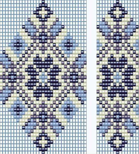 koralikowy wzor