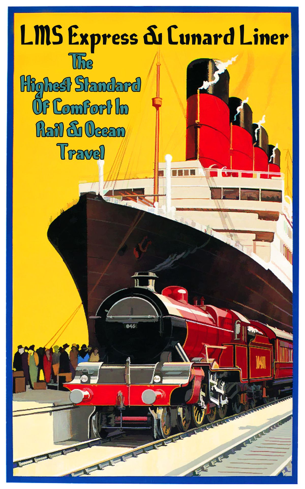 Poster Werbung Pin Von Paul N Auf Vintage And Retro Travel Art Ship Art