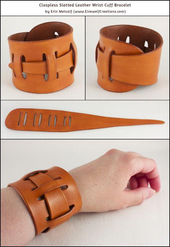 hienoja tarjouksia 2017 paras laatu kuuma myynti I wanted to design a leather cuff bracelet that would fit a ...