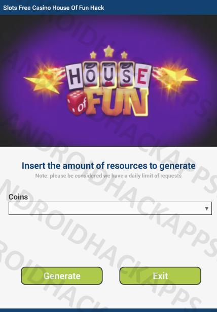 Slots Free Casino House Of Fun Hack Apk Coins Casino Slot Fun