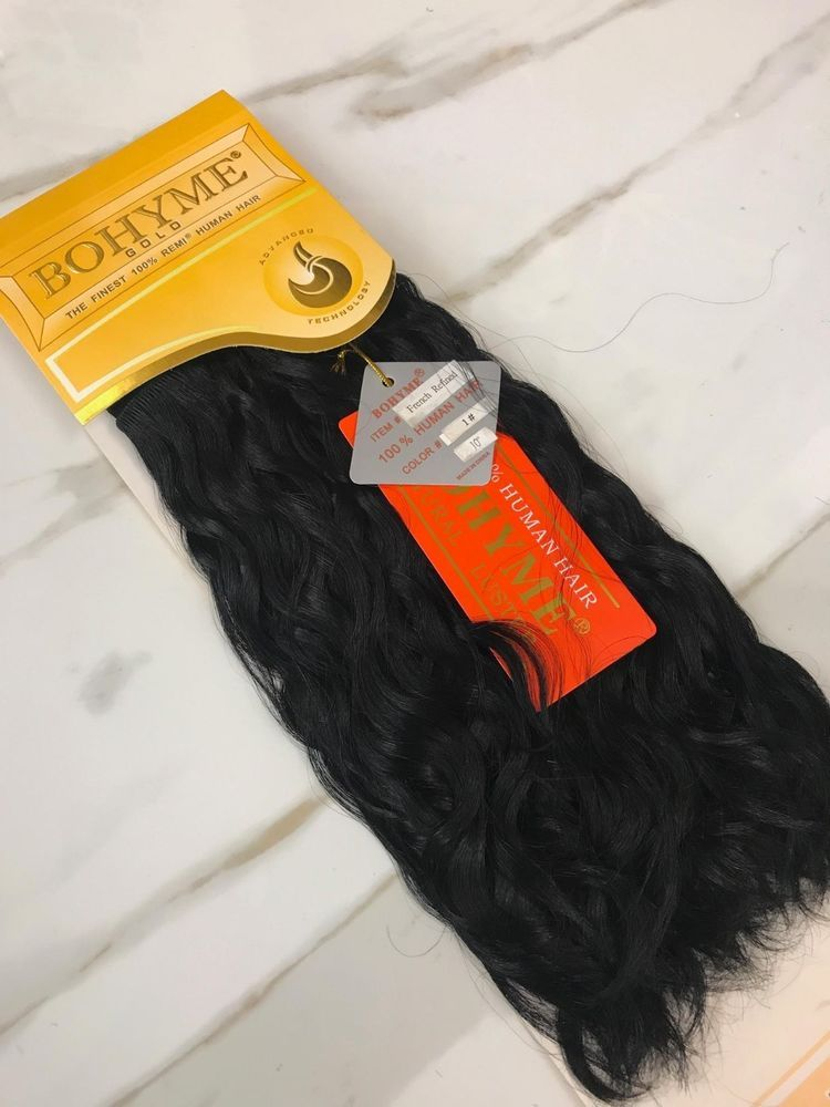 Details About Bohyme Gold French Refined 100 Human Remi Hair
