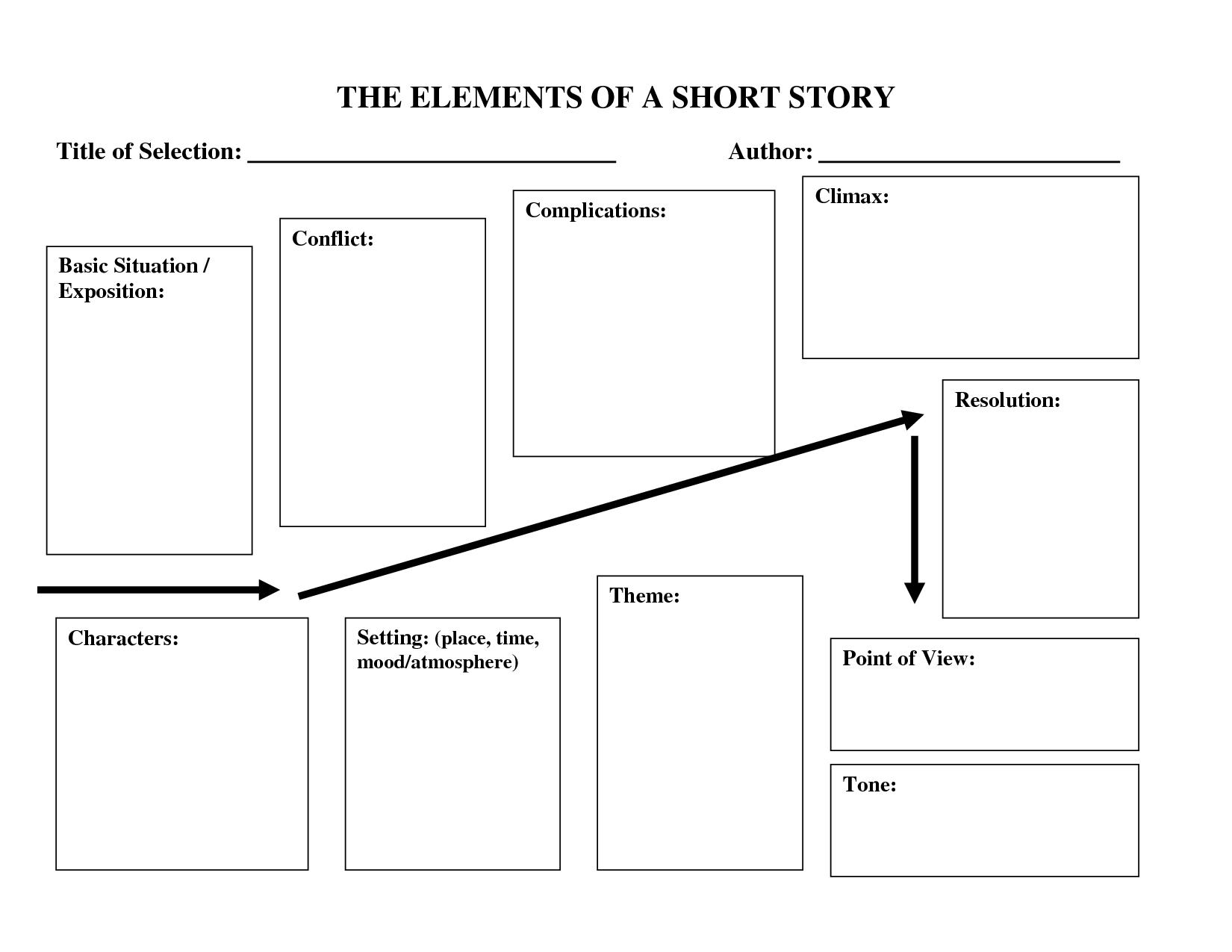 afbeeldingsresultaat voor short story template