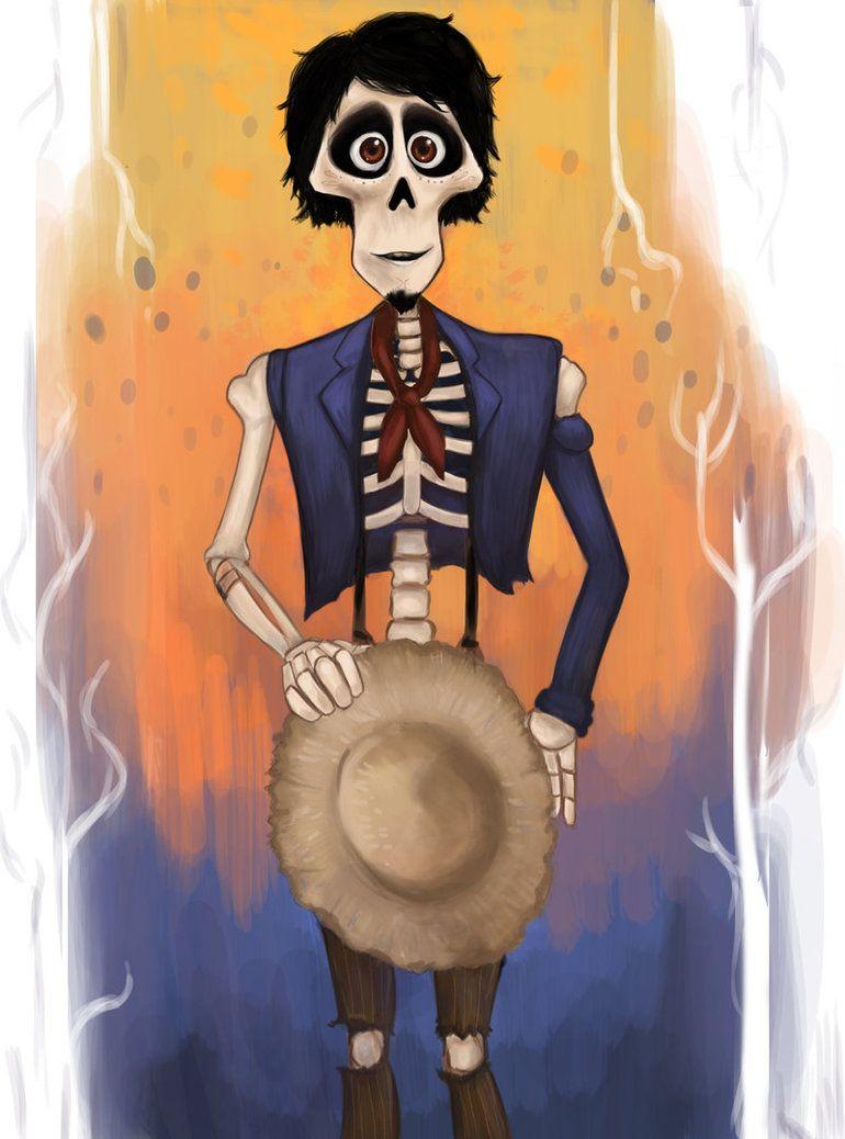Hector By Kamel21 Deviantart Com On Deviantart Dibujos Dibujos De Animales Tiernos Dia De Muertos