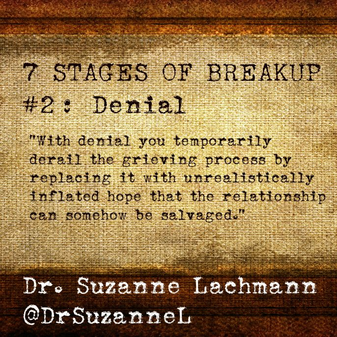 Grieving process break up