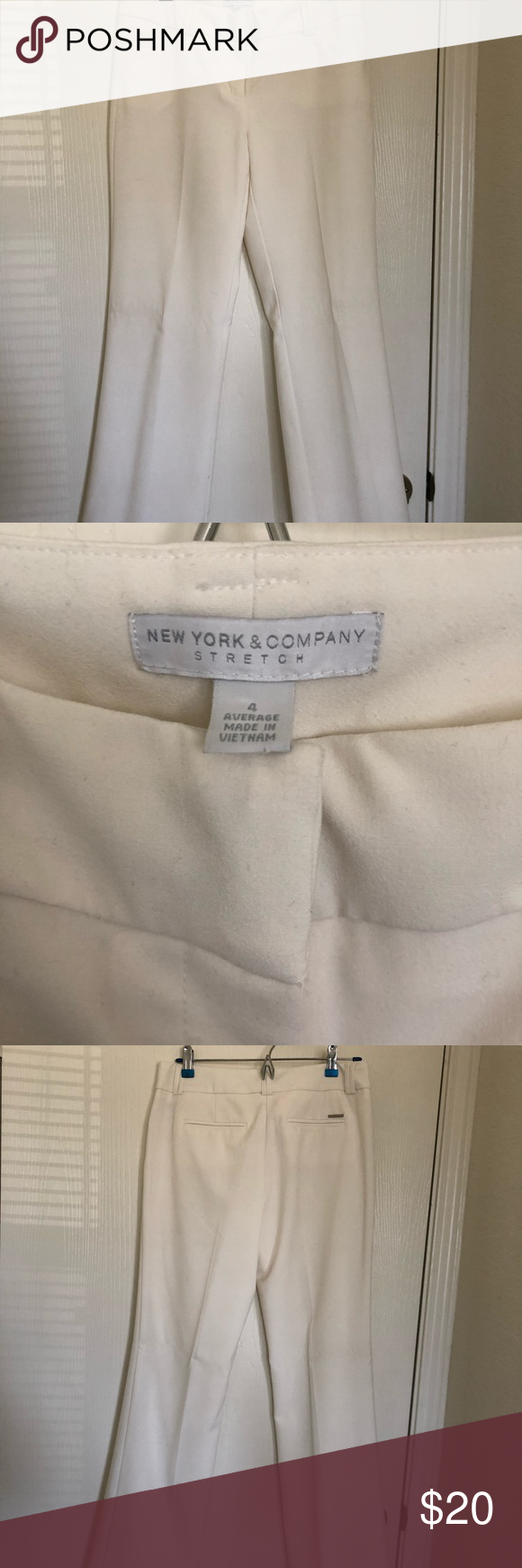 White slacks Perfect white slacks for work New York & Company Pants Trousers #whiteslacks White slacks Perfect white slacks for work New York & Company Pants Trousers #whiteslacks