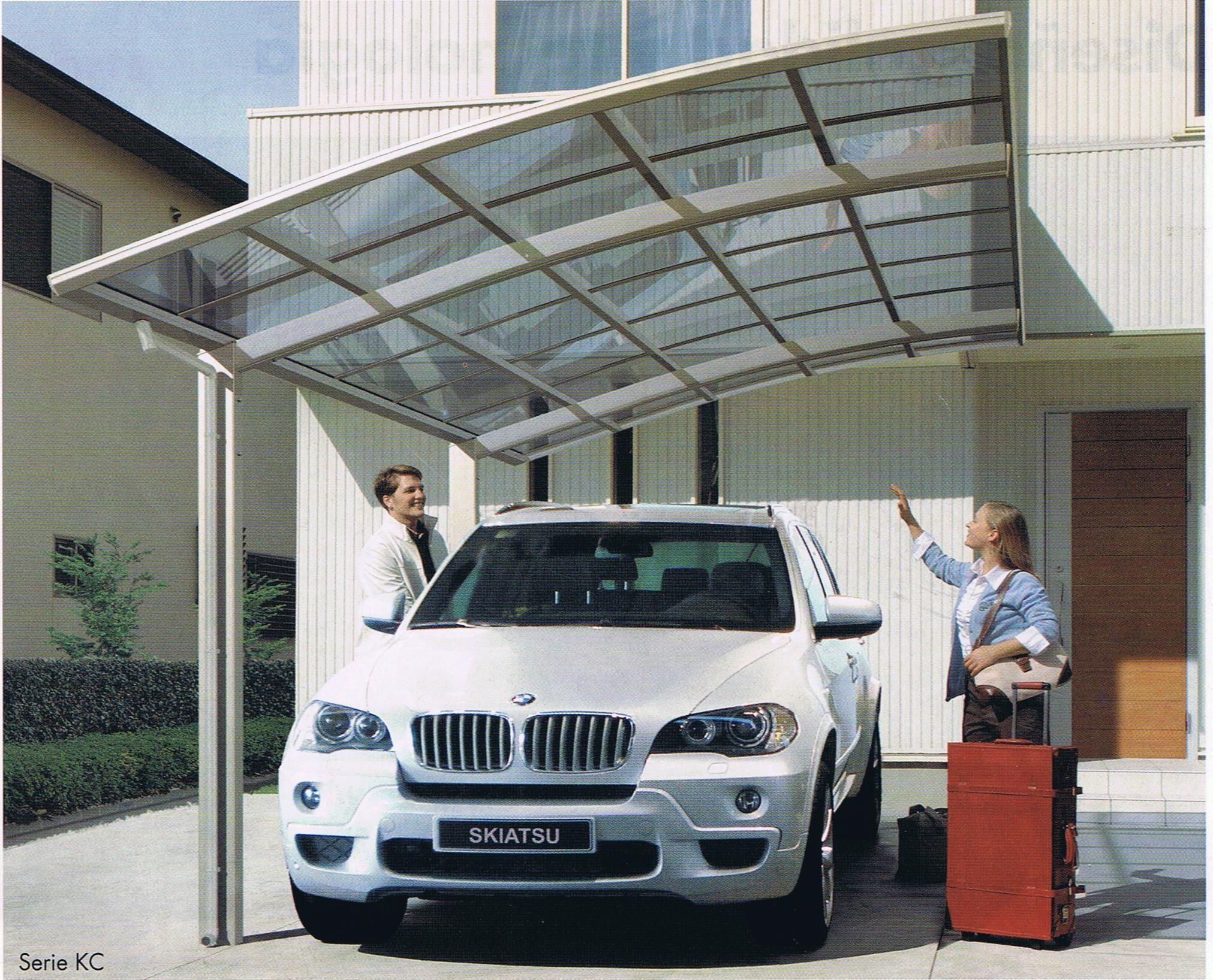 Pin de pen lope galilea en cerramiento porches pinterest garaje exterior garaje y cochera - Porches para coches ...