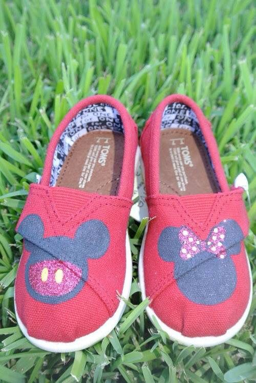 TOMS Mickey Mouse shoes