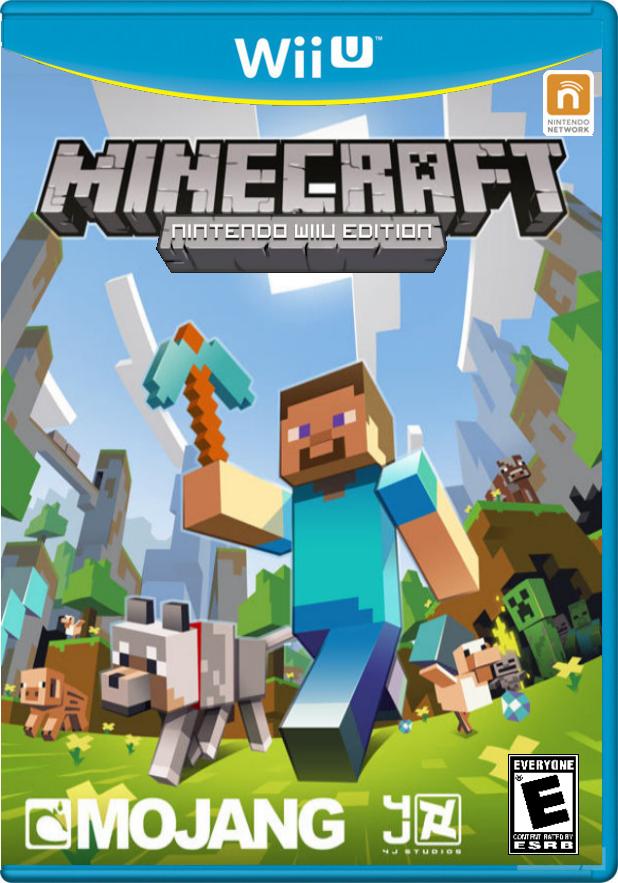 Minecraft Wii U Edition Minecraft Nintendo Wii U Edition Cover