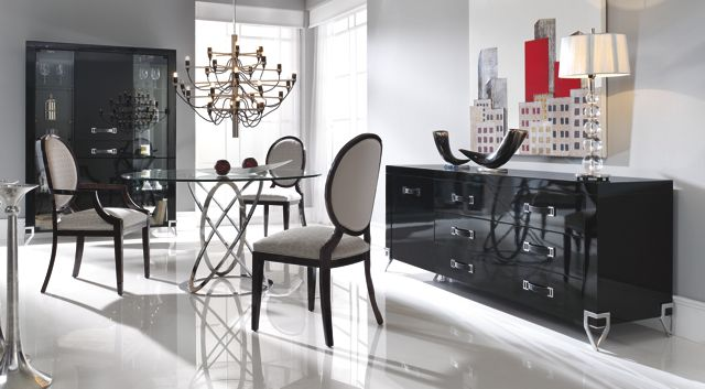the designer london collection italian round glass dining table