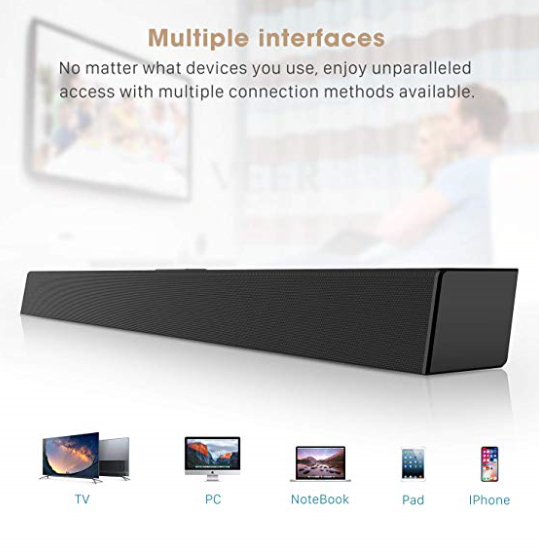 Connect All Your Gadgets For Awsome Sound Wireless Speakers Bluetooth Sound Bar Bluetooth