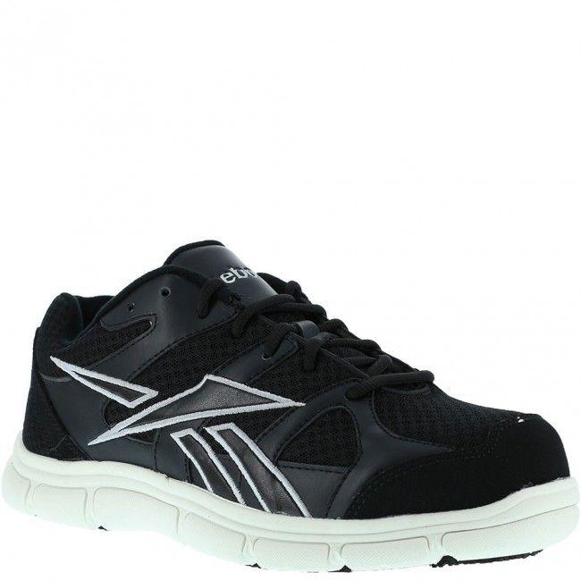 RB206 Reebok Womens Comp Toe Safety Shoes  BlackWhite wwwbootbaycom