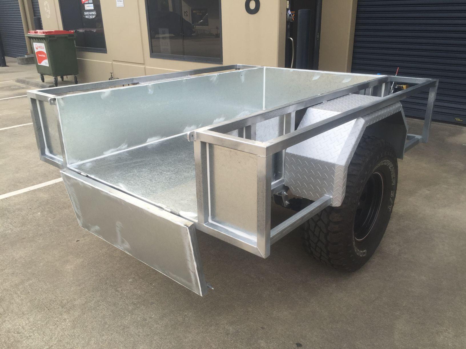 trailer sheet metal