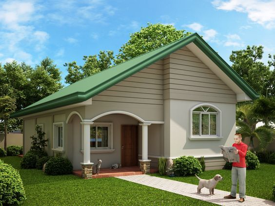 Attractive Small House Design U2013 2014005 | Pinoy EPlans   Modern House Designs, Small  House Designs