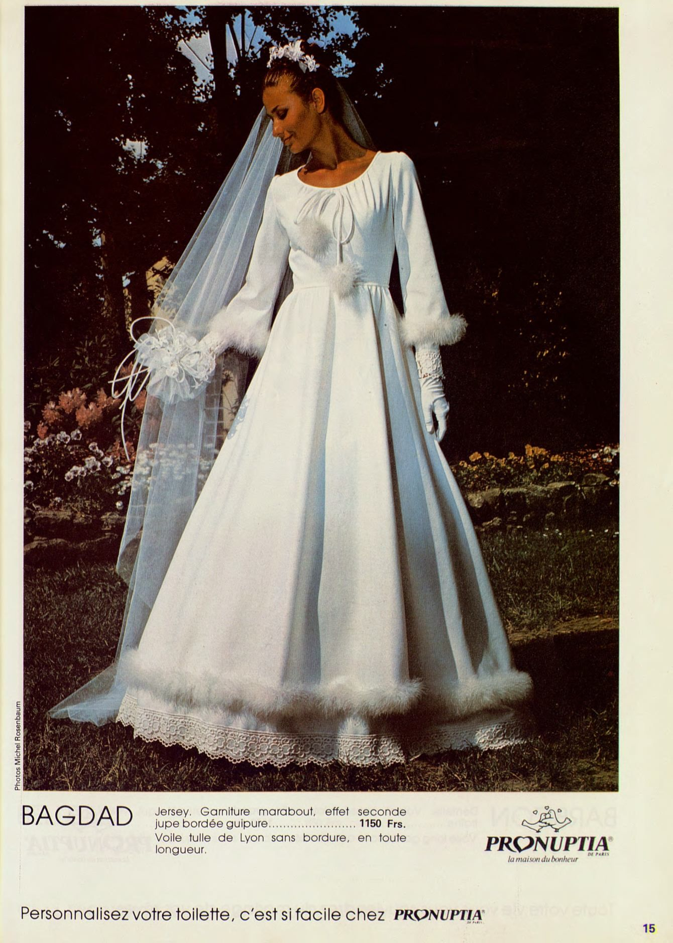 Pronuptia 1981 Vintage retro wedding Pinterest
