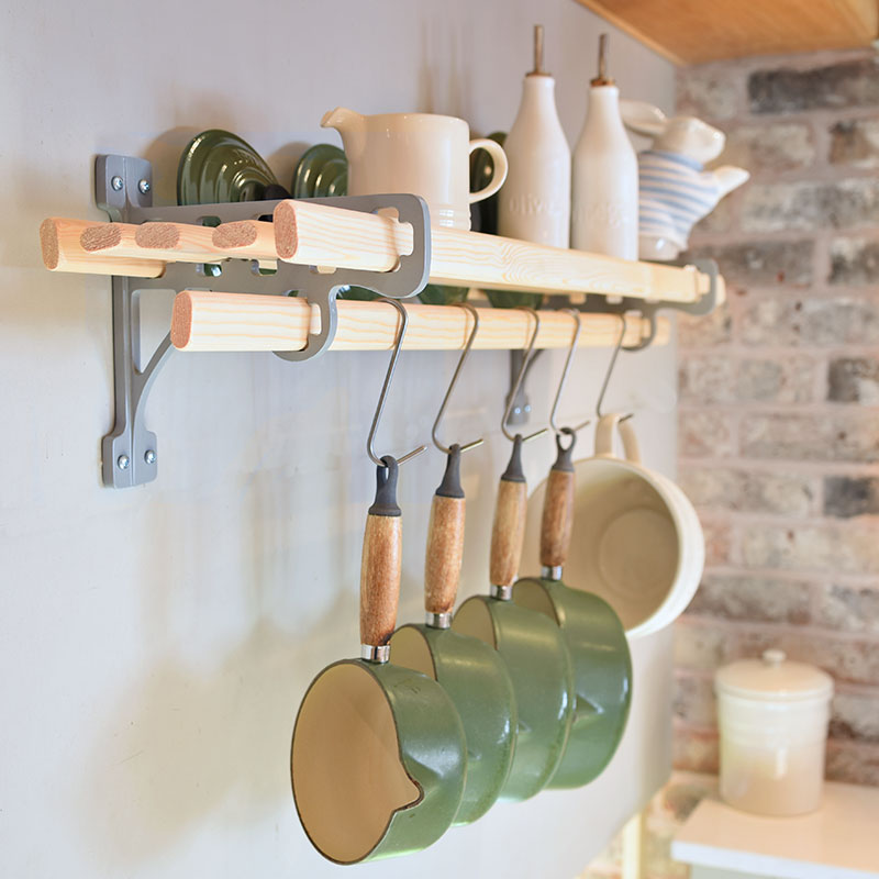 6 Lath Kitchen Shelf Rack In 2020 Kitchen Shelves Shelves