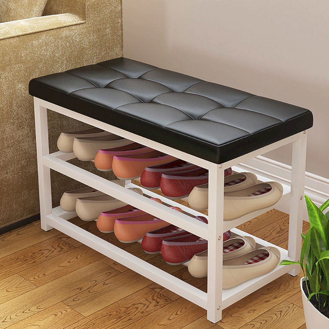 10 Cozy Living Room Bench Storage Ideas That Make Home
